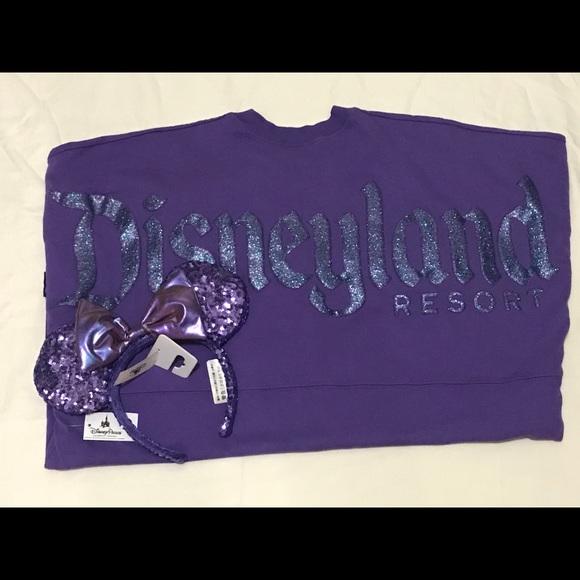 7e15b00c3 Disney Tops   Land Purple Potion Spirit Jersey With Ears   Poshmark